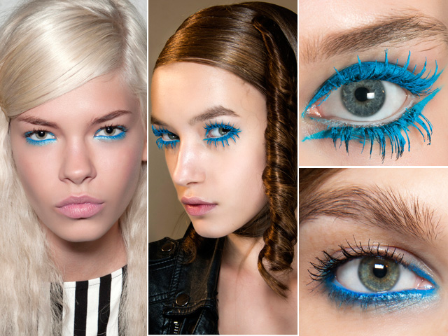 Favoloso Make up fluo di primavera: dal blu come l'acqua al giallo lime YG47