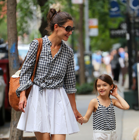 Katie Holmes e Suri Cruise