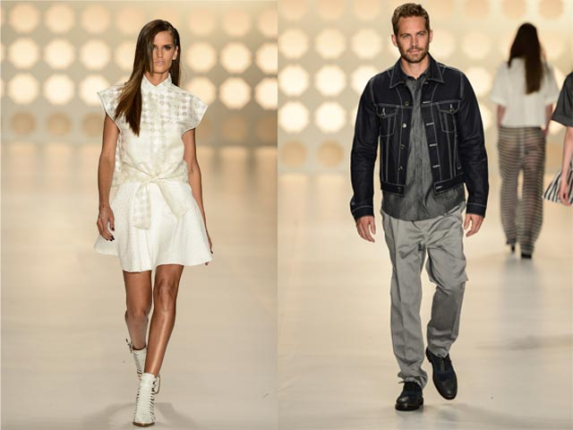 Izabel Goulart e Paul Walker