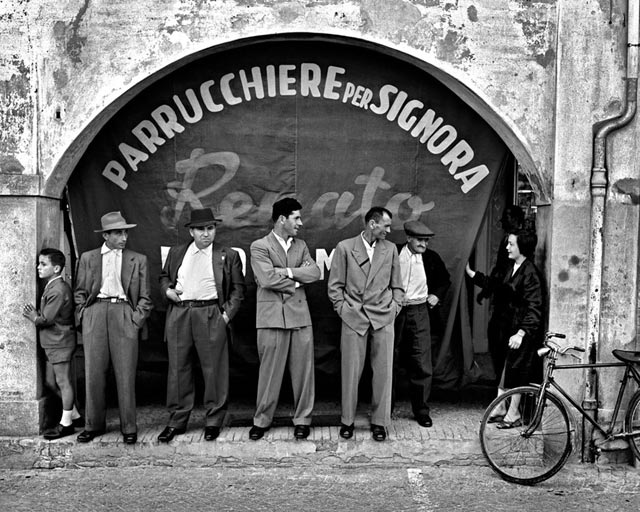 Nino Migliori, dalla serie Gente dell'Emilia 1957