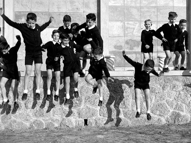 Nino Migliori dalla serie Gente dell'Emilia 1957